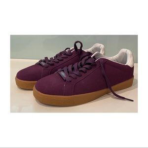 Mens Lambretta crossfire trainers UK 9 purple/plum